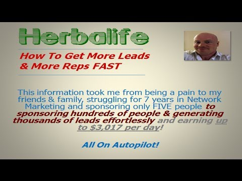 Herbalife | How To Recruit More Reps Faster & Earn More