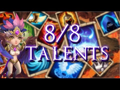 Castle Clash: 8/8 Talents Review