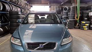 how to reset service warning message Volvo V50 2009 Full HD 1080p