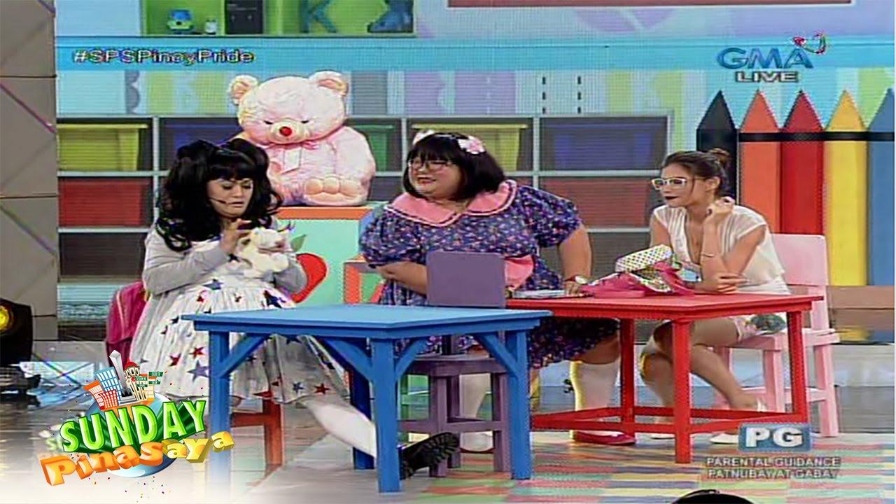 Sunday PinaSaya: Boobsie and Chuchay meet Ms. Purificacion