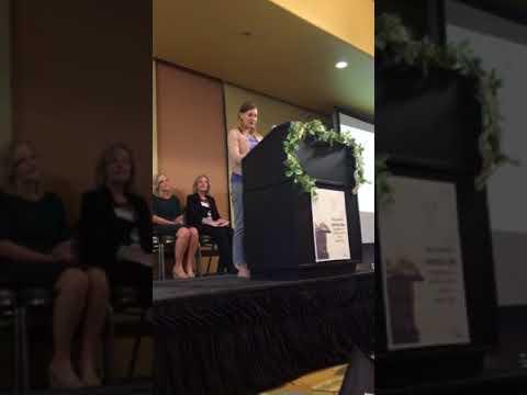 Lauren's acceptance speech