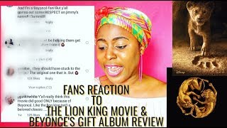 The Lion King Review Beyonce - Lion King Gift Album Royalty Cosmos