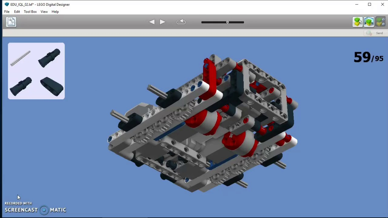 Lego Mindstorms Ev3 Edu Iql Ldd Construction Manual