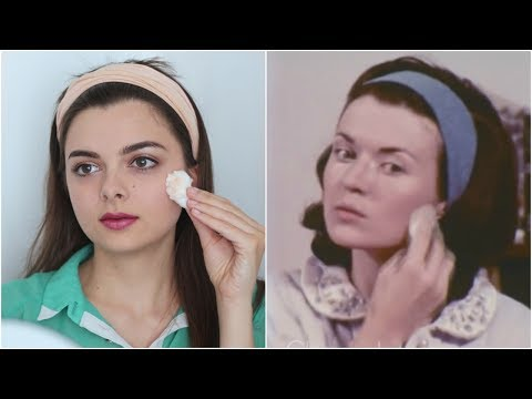 I Tried Following A 1960's Makeup Tutorial