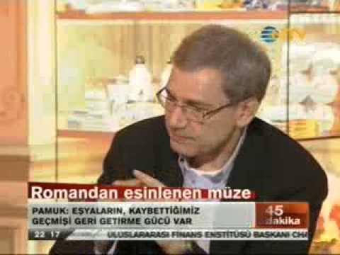 Mehmet Barlas - Orhan Pamuk - 45 dakika - 1.Bölüm