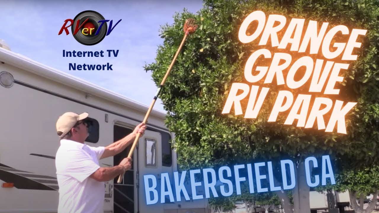 Orange Grove RV ParkBakersfield Ca TreesTehachapi RVerTV