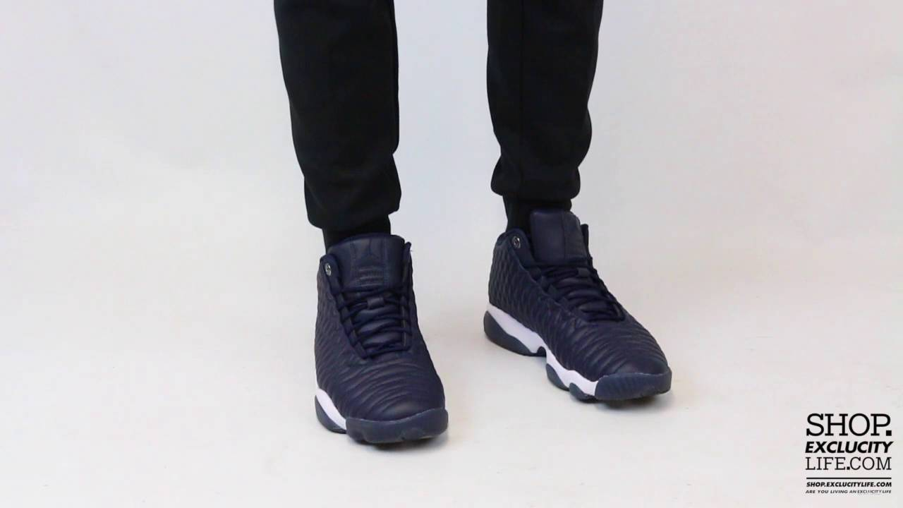 hot sale online aae44 c2171 Jordan Horizon Premium Low Obsidian On feet Video at Exclucity