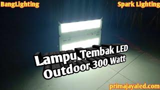 Lampu Tembak LED Outdoor 300 Watt.