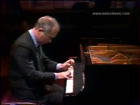 Alexis Weissenberg plays Bach's Chromatic Fantasy and Fugue in D Minor, BWV 903