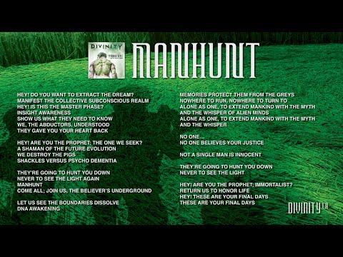 DIVINITY - The Immortalist - Manhunt [Lyrics & Artwork]