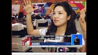 Jurnalis Asing Ikut Kagumi Kemegahan Pembukaan Asian Games 2018 - BIS 19/08