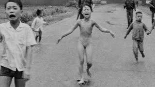 Risultati immagini per bambina sopravvissuta vietnamita