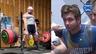 LOTW (December 2019) Cailer Woolam Deadlifts 440 kg, 17 y/o Totals 708 kg In The 83 kg Class