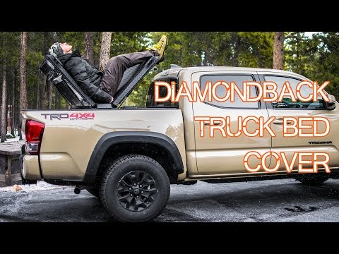 DiamondBack Truck Bed Cover Review - Essential Truck Gear - Episode 2 (2016 Tacoma)
