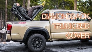 DiamondBack Truck Bed Cover Review - Essential Truck Gear - Episode 2 (2016 Tacoma) thumbnail