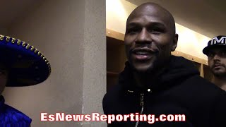 MAYWEATHER HINTS PACQUIAO'S