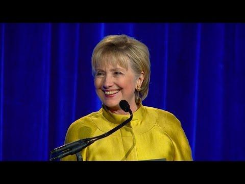 Secretary Hillary Rodham Clinton's remarks at Center Dinner
