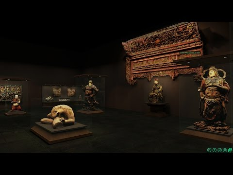 First VR 3D Virtual Museum online - Ancient sculptures of Vietnam - 3D scans cultural heritage -VR3D