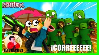 ROBLOX Zombie Attack ESCAPEIng FROM ZOMBIE ATTACKS! 🧟(ROBLOX GAMES for CHILDREN) JEYCRACK 21