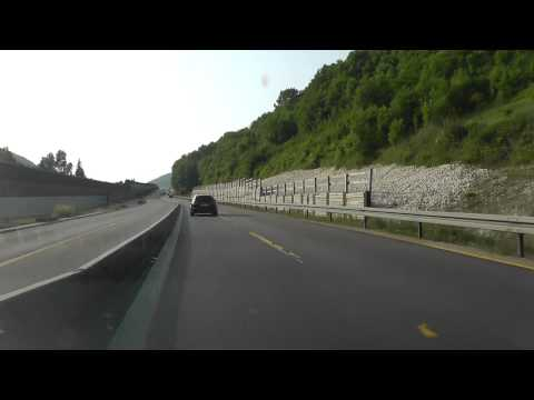 Driving German Autobahn to France Continued 2