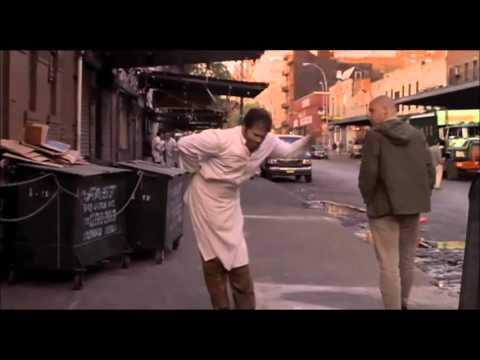 Hilarious scene from movie Men In Black: Edgar bug the farmer, super crazy, insane bug