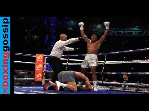 Live show – Post fight – Anthony Joshua Vs Wladimir Klitschko – Full Boxing Analysis