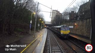 West Coast Main Line Driver's Eye View: Glasgow Central to Manchester Airport