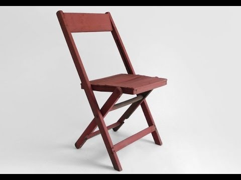 Wooden Folding Chair Ideas YouTube
