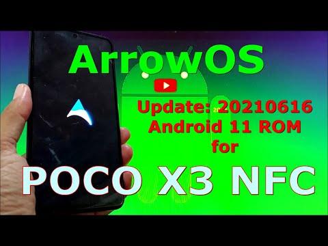 ArrowOS v11 for Poco X3 NFC (Surya) update: 20210616