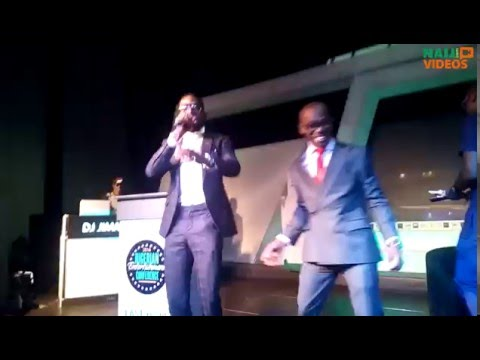 D'banj performing 'Emergency' live