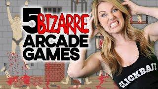 5 Bizarre Arcade Games