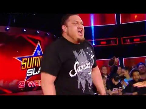 WWE Wal3ooha: رسالة ساموا جو لرومن رينز في لاست مان ستاندينج