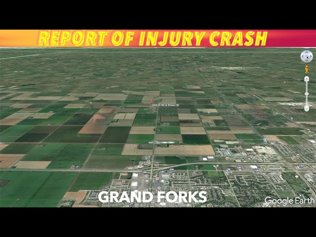 Report Of Injury Crash By Grand Forks