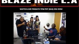 Episode 43 Blaze Indie L.A Show |LIVE Music Reviews