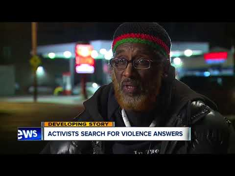 Activists want the violence to stop in Cleveland