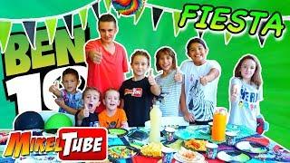 Ben 10 Party con Amigos para celebrar los 2 M