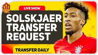Solskjaer's 100 Million Transfer Race Begins! Man Utd Transfer News