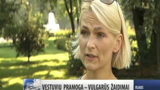 Renginio vedejas Antanas Kanopkinas apie vestuves info.tv