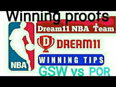 GSW VS POR ||GOLDEN STATE WARRIOR vs Portland trail blazer || #dream11 #NBA # Prediction 14/02/2019