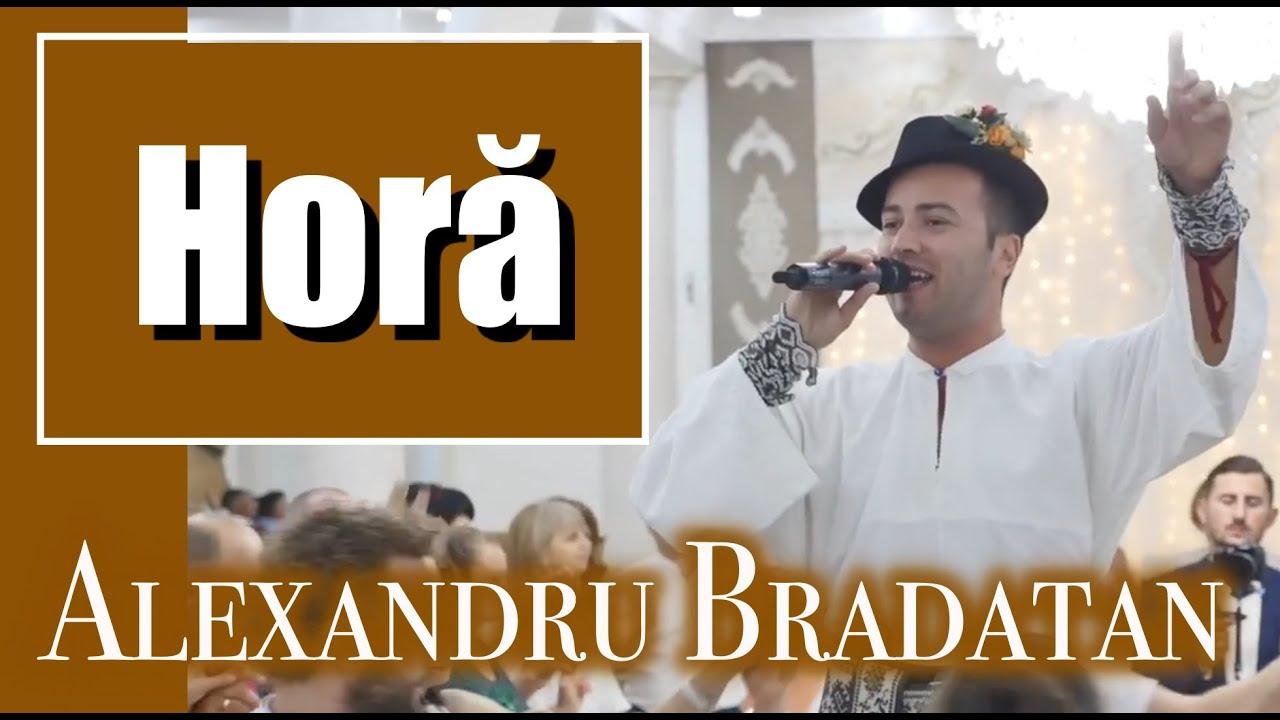 Hora mare cu Alexandru Bradatan I auzi doba cum mai bate muzica populara muzica de petrecere