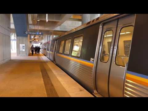 MARTA Transit: SFB/Hitachi CQ310/CQ311 Blue Line (6 Cars) at Kingsinton Station (EastBound)