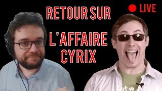 ANTOINE DANIEL REVIENT SUR L'AFFAIRE THOMAS CYRIX (BEST OF)