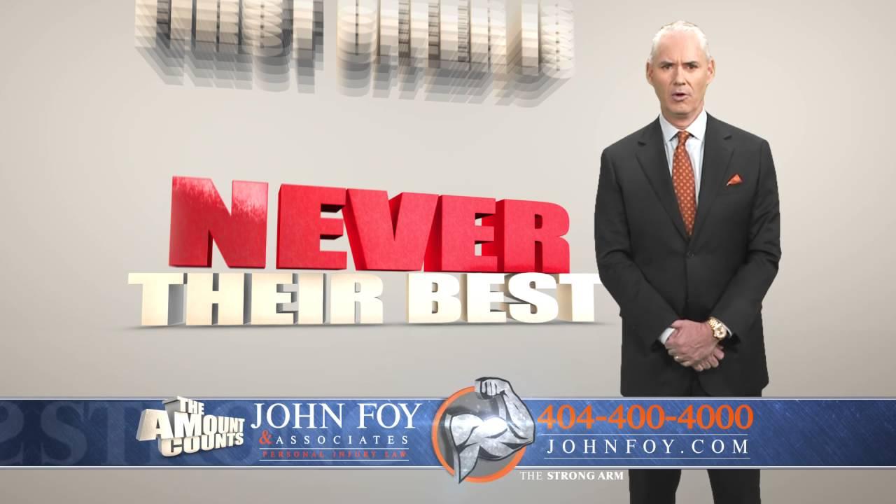 Atlanta Car Accident Lawyer: Atlanta Car Accident Attorney John Foy And Associates Gets