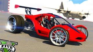 GTA 5 CUSTOM RAPTOR !! MI NUEVO COCHE DE CARRERAS - GTA V Pc Mods Gameplay