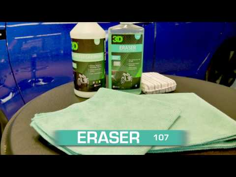 Eraser Gel & Waterless Car wash kit