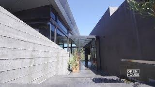 An LA Home Built Into a Hill