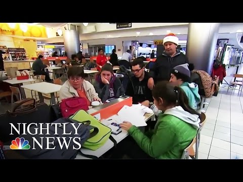 Nor'easter Leaves Travelers Stranded Across The U.S. | NBC Nightly News