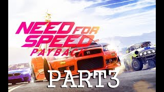 Need for Speed Payback Walkthrough NO COMMENTARY Part 3 - SIDEWINDER ~ ULTRA PC [1080pHD 60FPS]