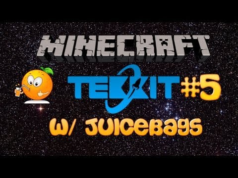 Minecraft Tekkit Server Episode 5 [ How to Make Energy Cells and Tesseracts! ]