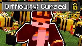 "So I made a ""Cursed"" Difficulty in Minecraft..."